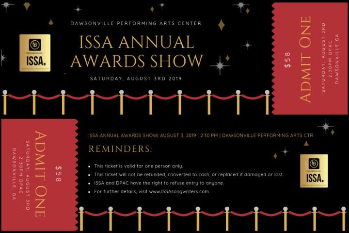 ISSA Awards Show Tickets