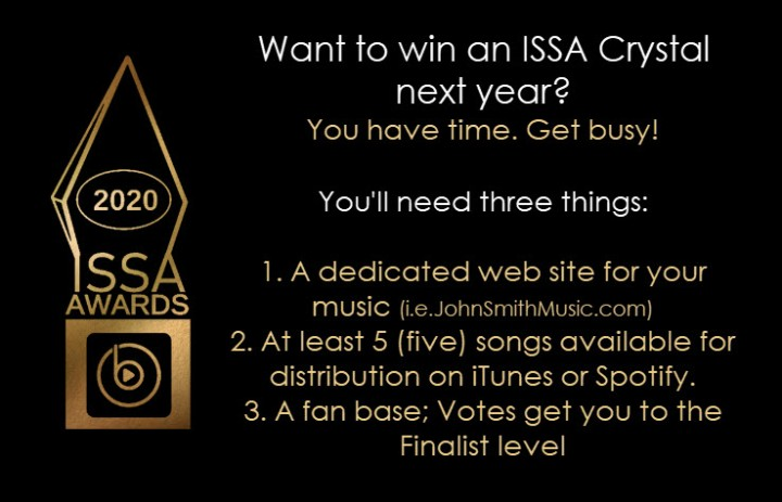 2020 ISSA Awards Requirements
